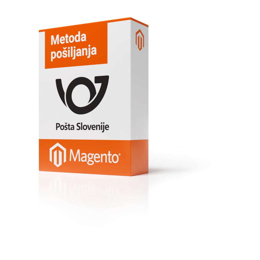 Magento 2 - Metoda pošiljanja Pošta Slovenije
