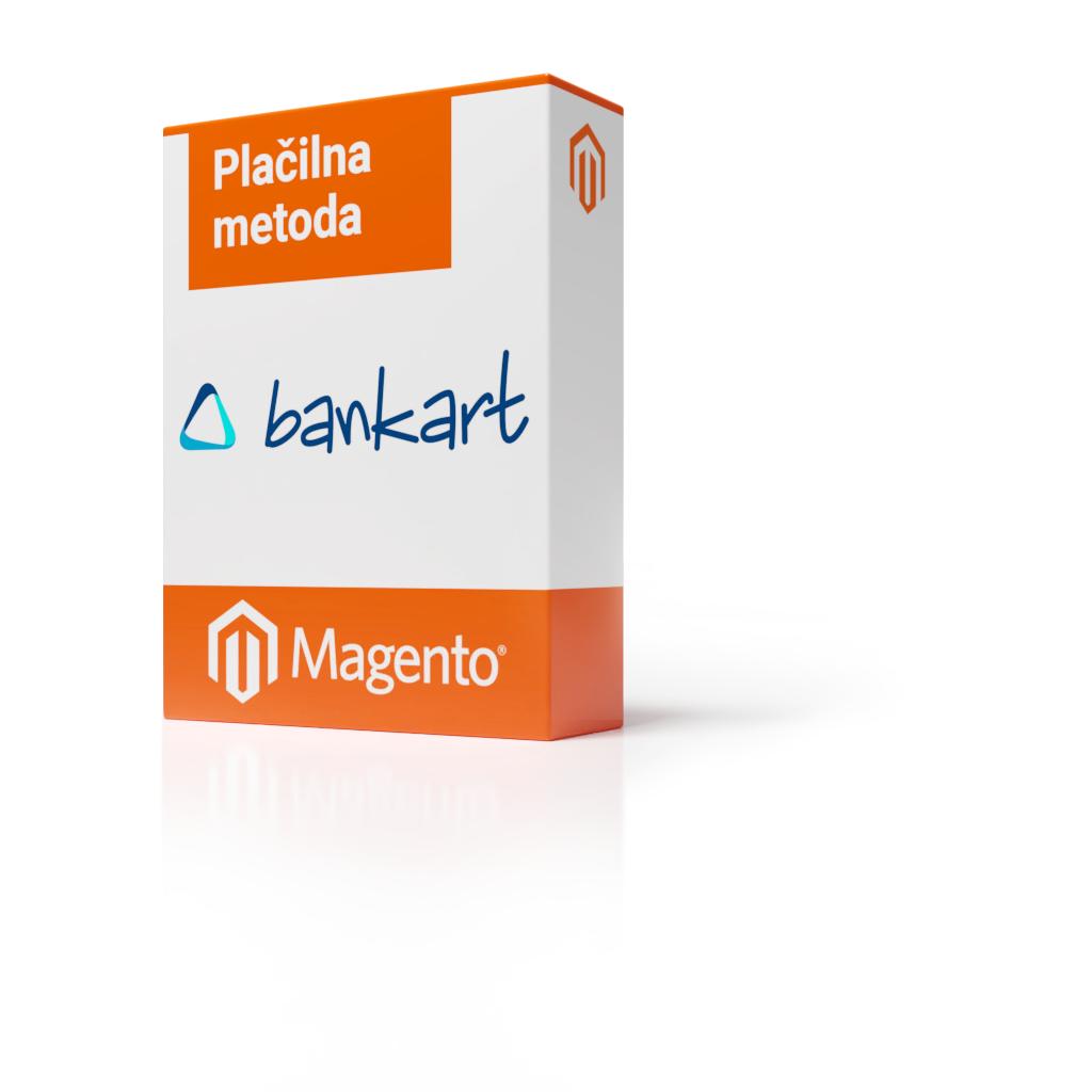 Magento 1 - Plačilna metoda prenovljen BankArt