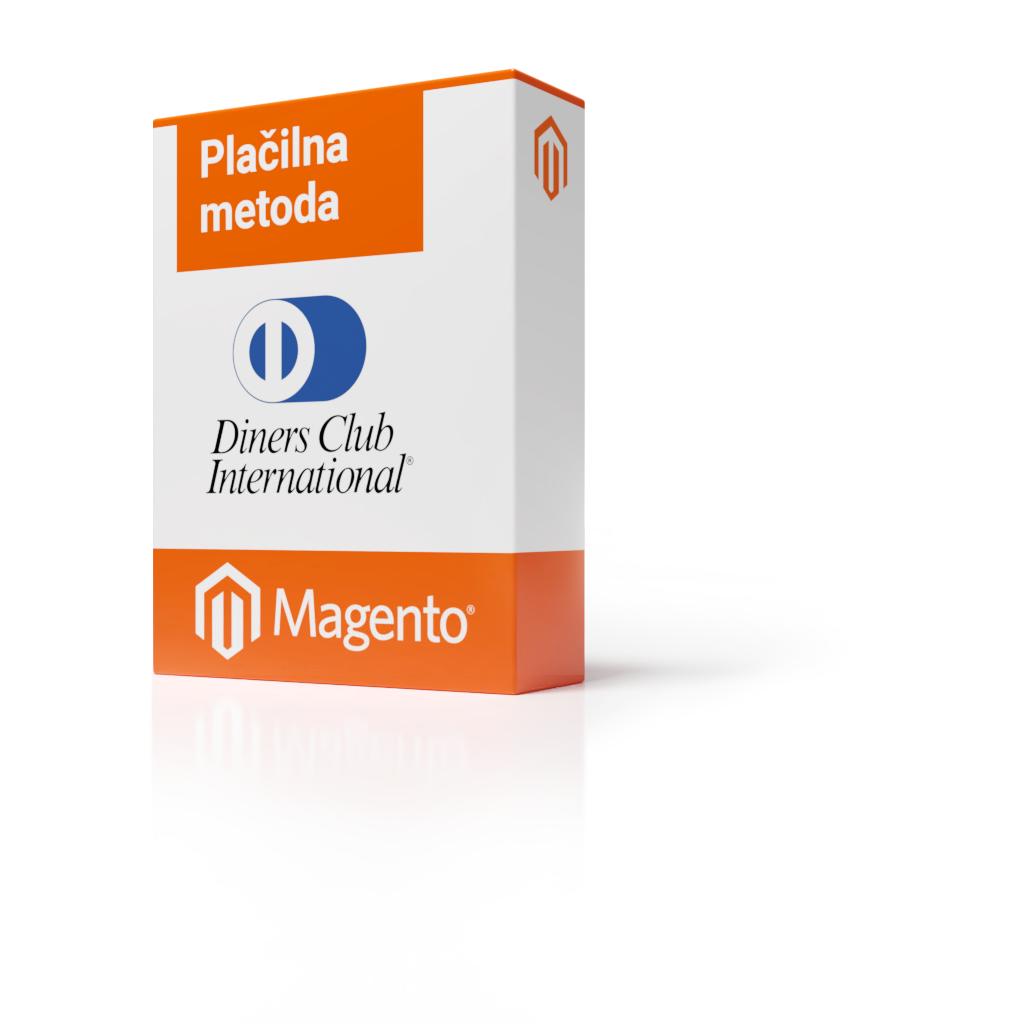 Magento 1 - Plačilna metoda Diners