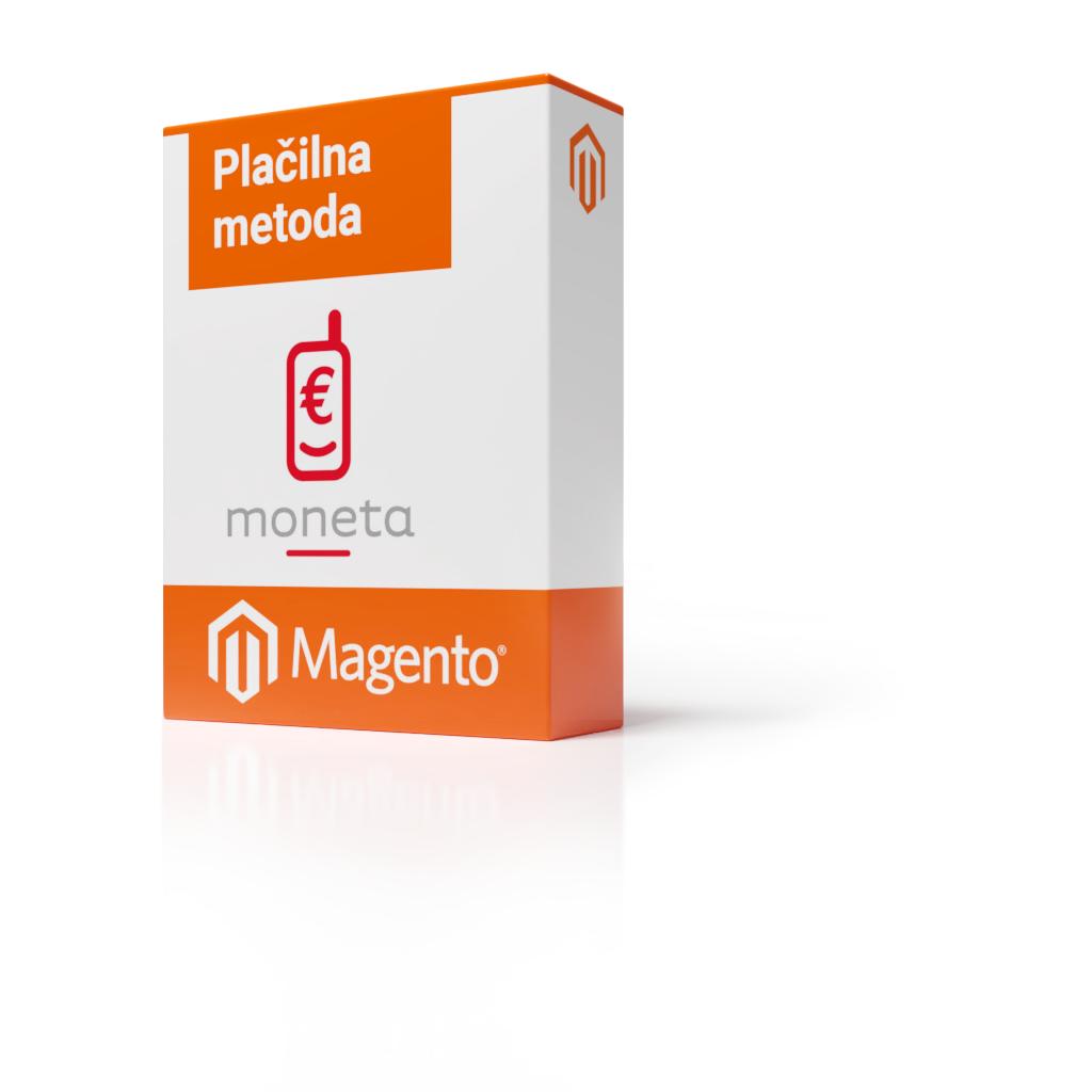 Magento 1 - Plačilna metoda Moneta