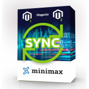 Magento 1 or 2 - Sinhronizator Minimax